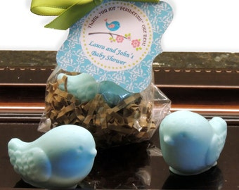 10 Tweet Bird Soap Party Favors  Baby Shower Bridal Shower Birthday Wedding Custom Party Favors