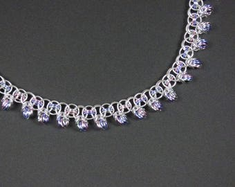 Helm-Half-Byzantine Chainmaille Necklace
