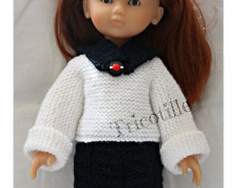 "Sailor set for Doll ""Les girls"""