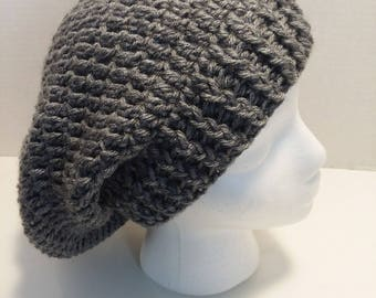Crocheted Slouchy Hats
