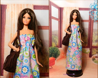 Dress for barbie doll