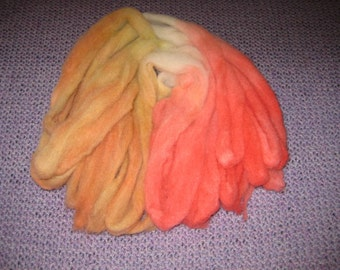 Wool roving for spinning