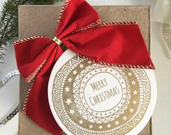 Christmas Tags, Christmas Gift Tags, Gold Christmas Gift Tags, Holiday Gift Tags, Holiday Gifts, Christmas Wrapping, Christmas Labels Gold