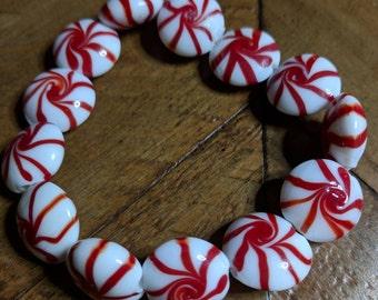 Peppermint Candy Stretch Bracelet