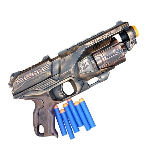 Large NERF GUN LOT ~ Guns, Clips, Tri Pod, Goggles, Accessories