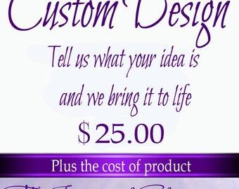Custom Designer Fee