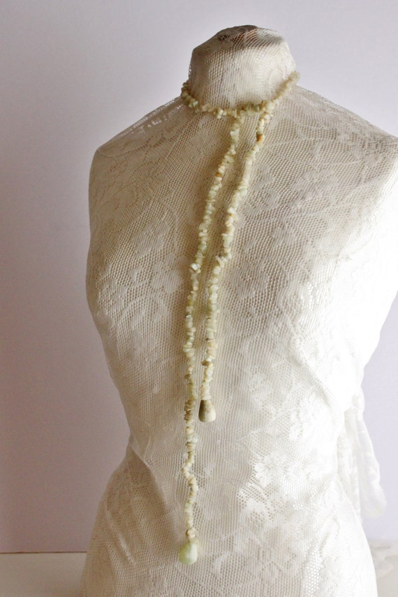 Vintage Onyx Necklace, Handmade Onyx Necklace, Vintage White Onyx Statement Necklace