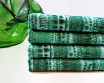 Cloth Dinner Napkins- Set of 4- 100% Cotton- Eco-Friendly - Bohemian Tie Dye