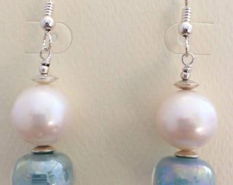 Pearl and Luster Earrings