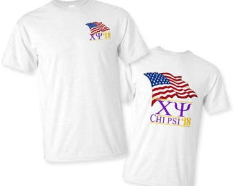 Chi Psi Patriot Limited Edition Tee