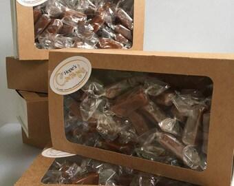 Sea Salt Caramels, 1 lb box