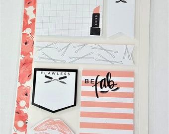 Girly Sticky Notes Planner / Stationary