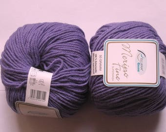 Fine Merino superwash lilac 235 Rellana 5 balls