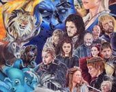 Game of Thrones ART PRINT...