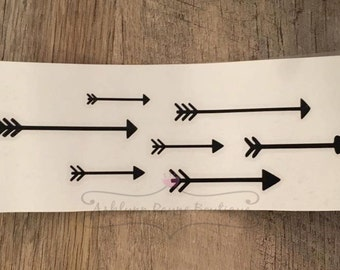 Arrow Decal| Car Decal| Laptop Decal| Arrow