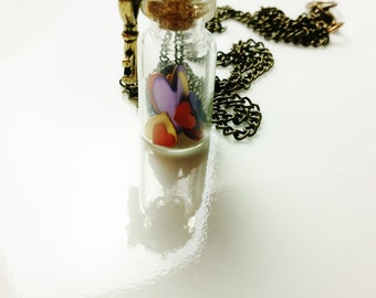 Heart Key Necklace Girlfriend Gift Bottle Necklace Trending Now Women Teen Girl Tween Gift SALE Jewelry R25