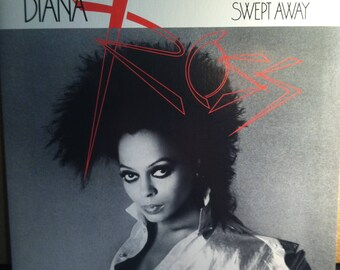 Diana Ross Swept Away Vinyl Soul Record Album