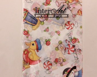 Mary Engelbreit Printed Tissue by InterArt. Packaged four sheets 20 in. x 26 in. Kids