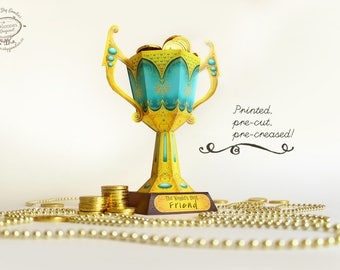 Printed Papercraft DIY Trophy Cup