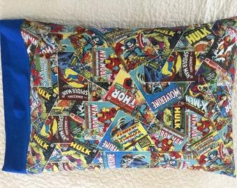 Marvel Comics Avengers **King Size** Pillowcase