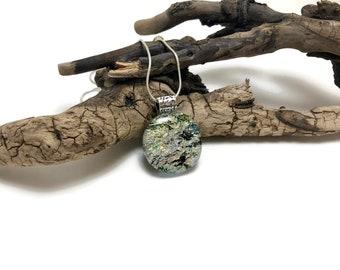Dichroic glass, dichroic glass pendant, dichroic, Dichroic Pendant, Fused Glass Jewelry, handmade dichroic glass, glass pendant, glass