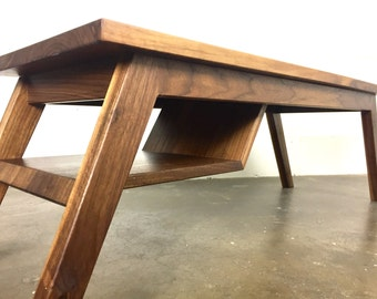 """The """"Charlie"""" mid-century modern coffee table, modern coffee table, coffee table,  danish modern, table"""