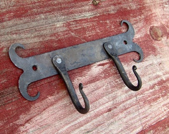 Hand Forged Steel Key Hook