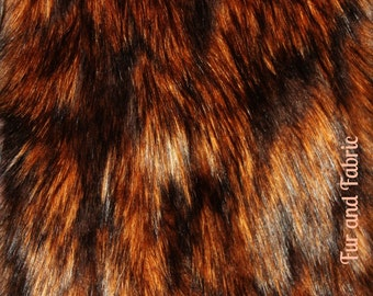 Lions Mane Faux Fur / Cutting / Swatch / Remnant / Fabric