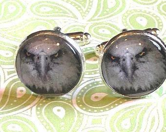 Eagle cufflinks - 16mm