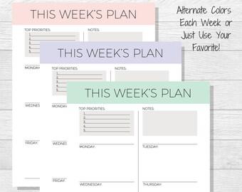 blank weekly schedule pdf