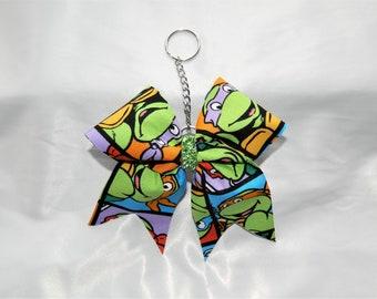 TMNT Teenage Mutant Ninja Turtles Bow Keychain