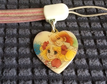 90s Vintage Candy Candy Anime Wrist Strap