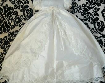 """Piccolo Bacio """"Connie"""" christening dress"""
