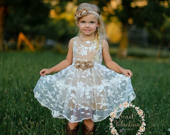 Rustic wedding dress | Etsy