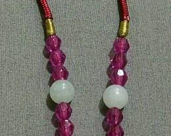 Redline Marble Multi-Gemstone Necklace