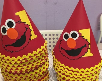 Elmo's Party Hats