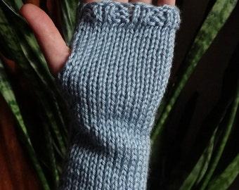 knit fingerless gloves, fingerless gloves, arm warmers, hand warmers, womens gloves, boho gloves