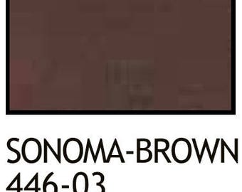 leather vinyl markers Sonoma-Brown 446-03