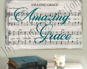 Amazing Grace Music  , SVG, PNG, JPEG