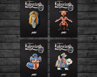 Labyrinth: Enamel Pin Pack