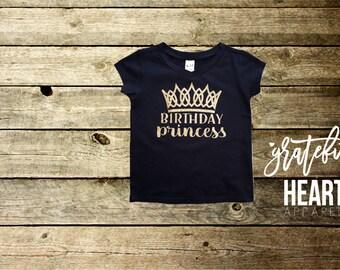 Birthday princess shirt, Princess shirt, Disney princess, Birthday girl shirt, Birthday shirt, One shirt, Two shirt, Toddler birthday shirt