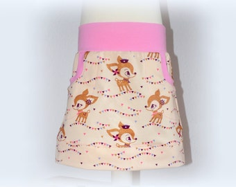 "Skirt with pockets ""fawn"""