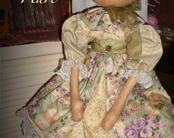 "Cloth Doll PATTERN ""Henrietta Hare"" KCP141"