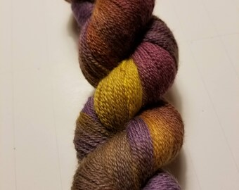 "Hand Dyed Lace Weight Yarn ""Renaissance"""
