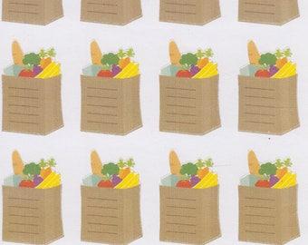 Shopping List | Grocery List | 838 | Planner Stickers | Kikki-K | Happy Planner | Erin Condren
