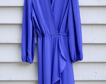 Chiffon Wrap Dress