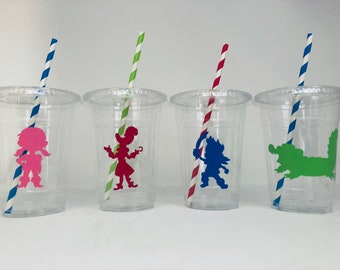 Jake and the Neverland Pirate Party Cups, Jake Party Cups, Neverland Pirate Party, Pirate party