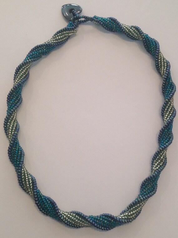 Herringbone Spiral necklace kit