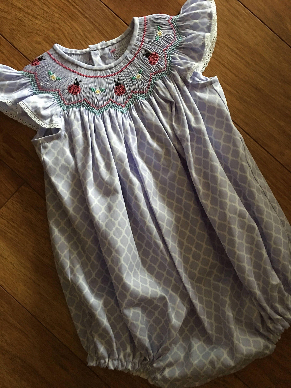585e191af4d Girl Toddler lavender quatrefoil Angel Sleeve Bishop Style