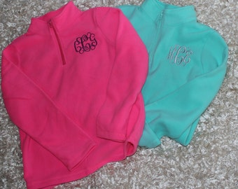 Child/ Youth Microfleece Quarter Zip-- While they last!